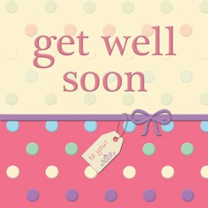 Get Well Soon With Swarovski Crystal